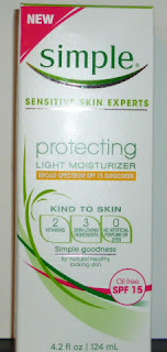 Simple Skincare Protecting Light Moisturizer