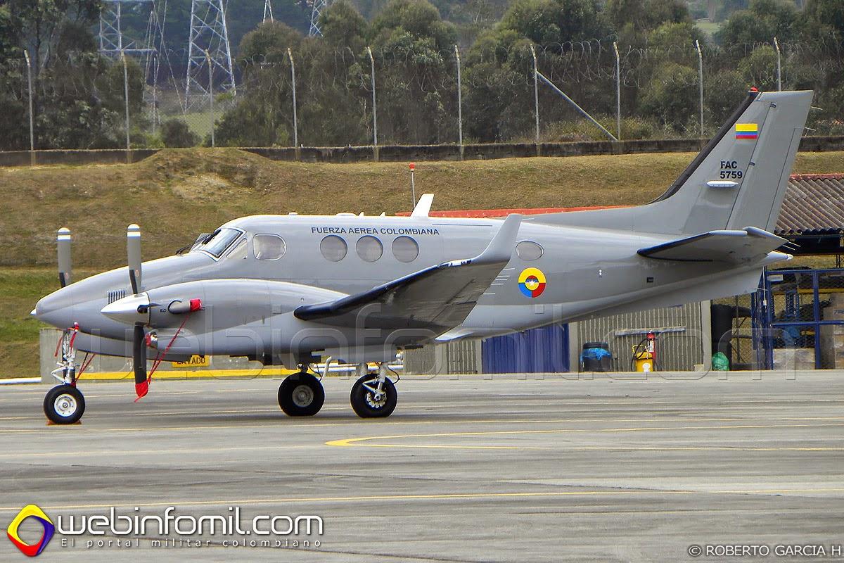 C-90GTX Fuerza Aérea Colombiana FAC5759