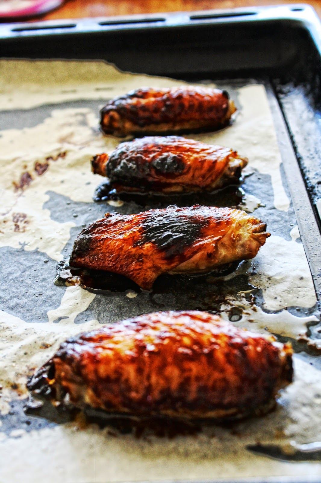 balsamic and sweet chilli wings