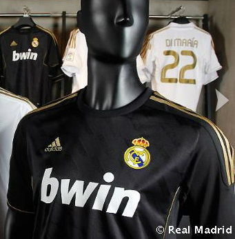 Real Madrid Away Shirt 2012