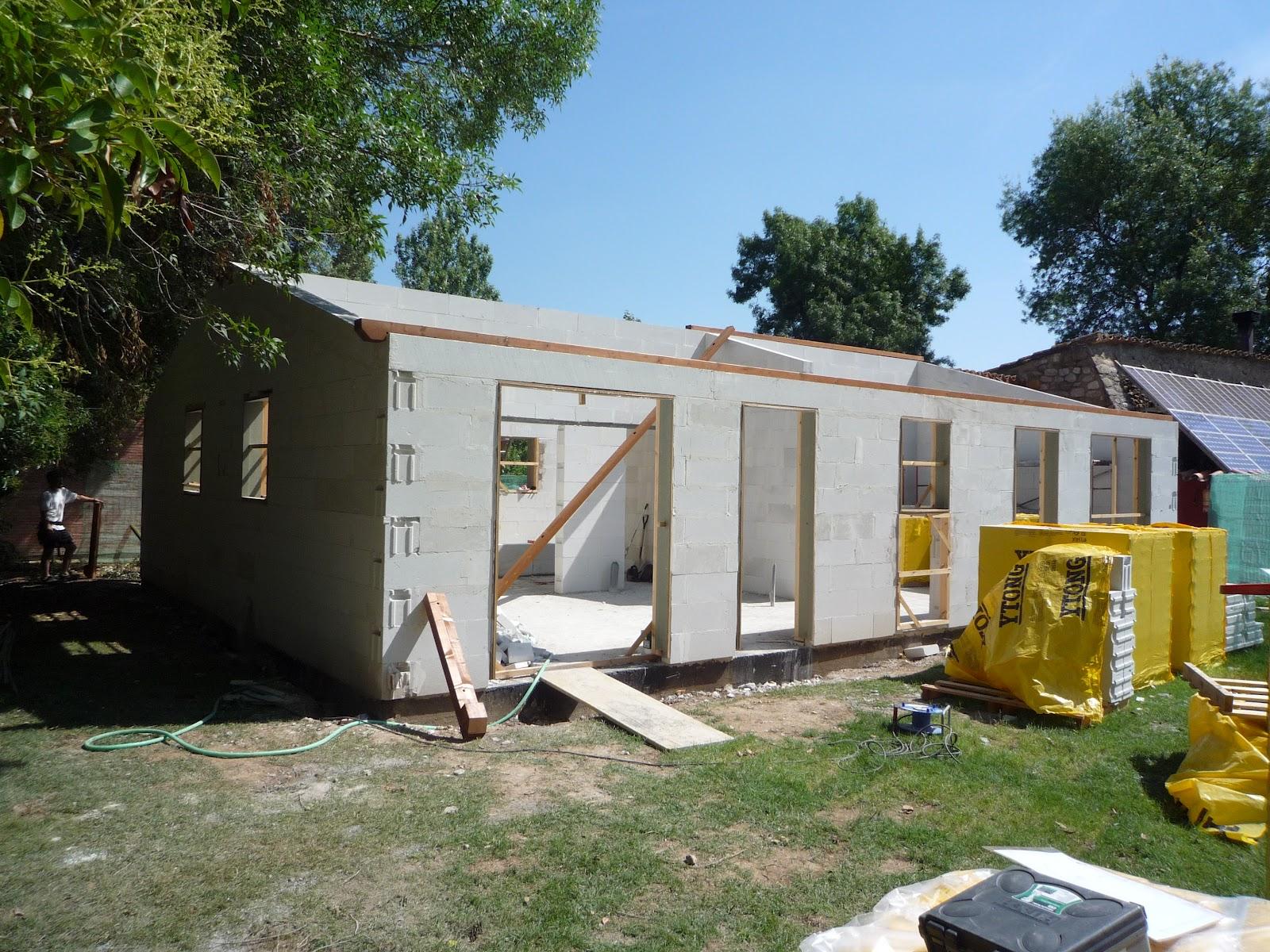 Casas modulares blochouse ampliaci n de casa rural en girona - Casas prefabricadas girona ...
