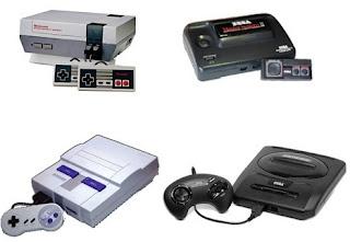 Consoles de 8 e 16 bits