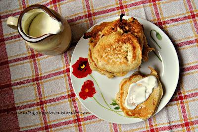 89. Waniliowe placuszki owsiane na śniadanie, podobne do klasycznych pancakes