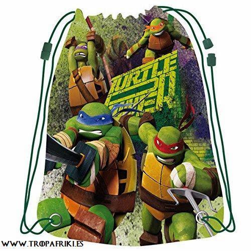 Mochilas frikis de cuerdas Bolsa de cuerdas Tortugas Ninja