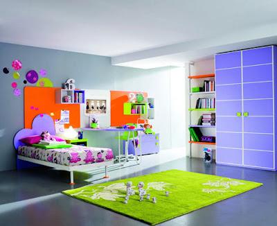 colores en dormitorio infantil