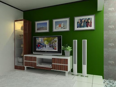 Design ruang TV minimalis