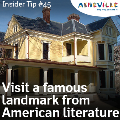 Asheville Insider Tip: Visit the Home of an American Literary Icon, the Thomas Wolfe Memorial