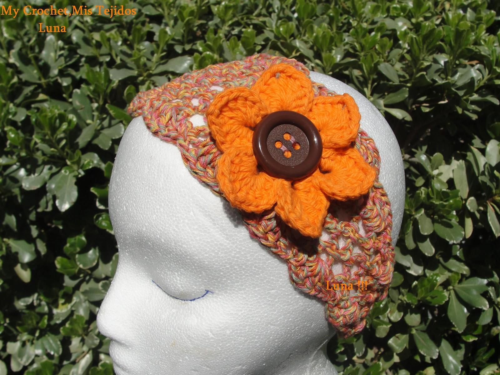 Headband,Diadema o Vincha and the Pattern by Luna