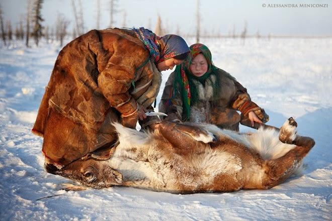 Bộ tộc ăn thịt sống ở Bắc Cực7