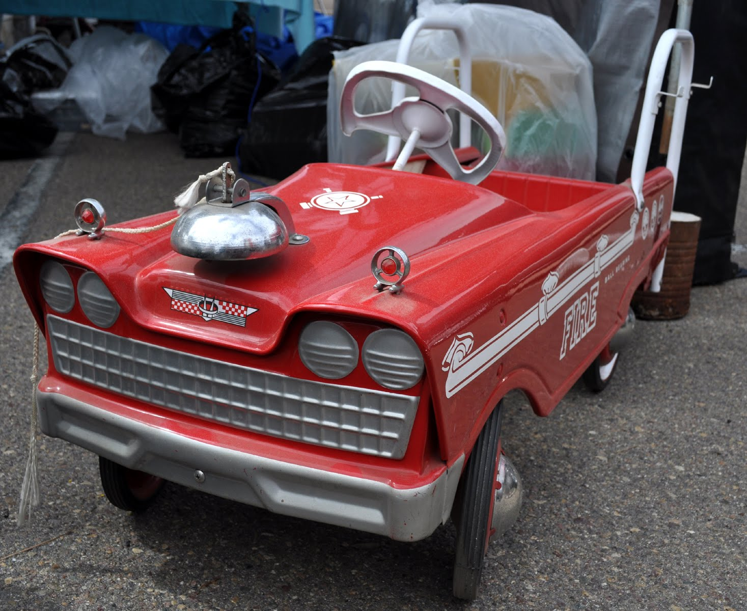 Just A Car Guy: pedal cars at the annual Qualcomm stadium swap meet ...