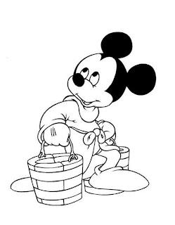 Desenhos da Disney para pintar