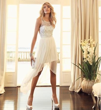 beyaz+elbise Immer neue 2014 Abendkleider und Kleider