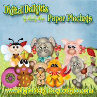 New!! Paper piecings by Digital Delights