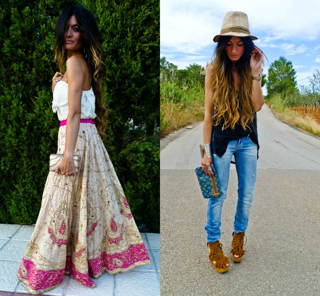 look hippie | We Heart It