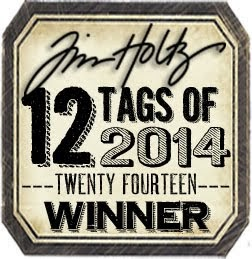 I'm a 12 Tags of 2014 Winner