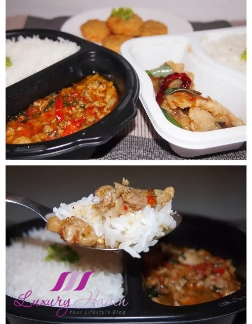 cp ready meal basil chicken rice review