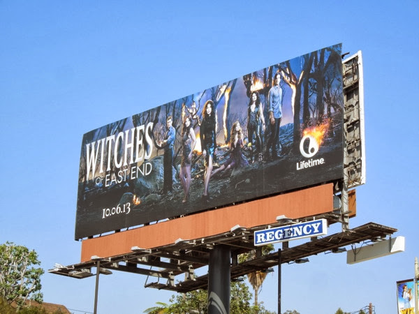 Witches of East End Lifetime billboard