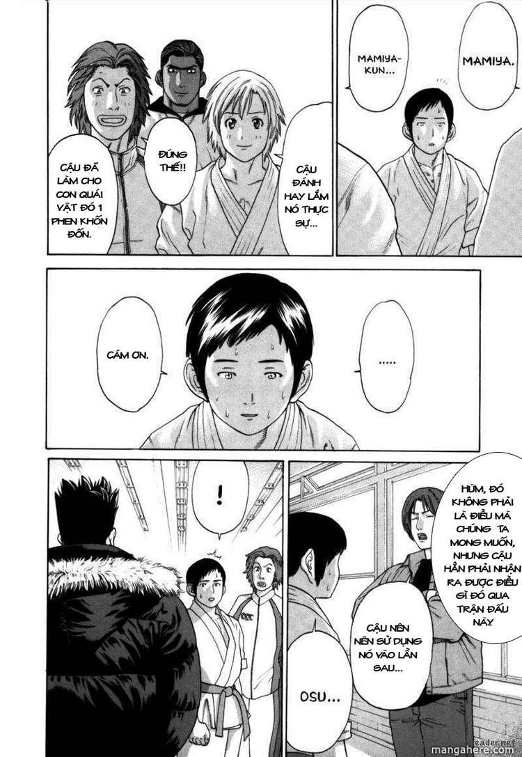 Karate Shoukoushi Kohinata Minoru chap 84 Trang 14