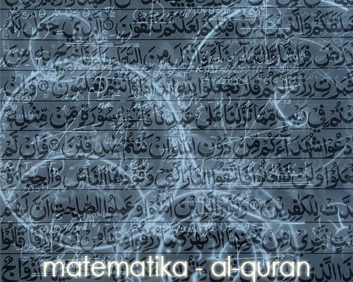 Pokok Bahasan / Materi Matematika dalam Ayat-Ayat Al Quran