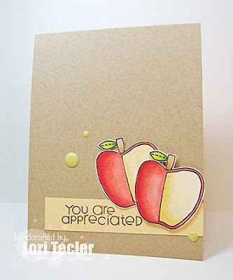 You Are Appreciated card-designed by Lori Tecler/Inking Aloud-stamps from Paper Smooches