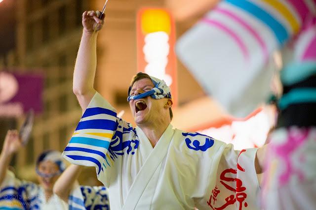 初台阿波おどり、東京えびす連の男踊り