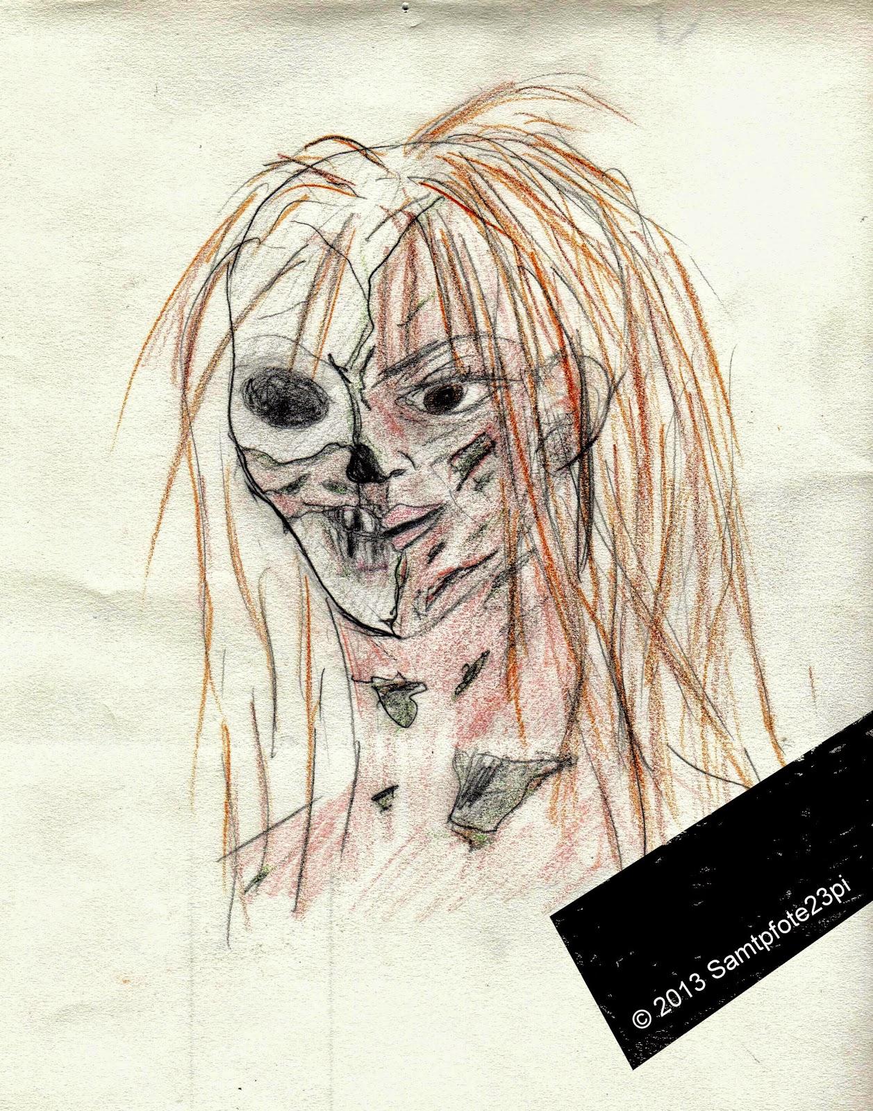 Bild Zombie, © 2013 Samtpfote23pi@gmail.com