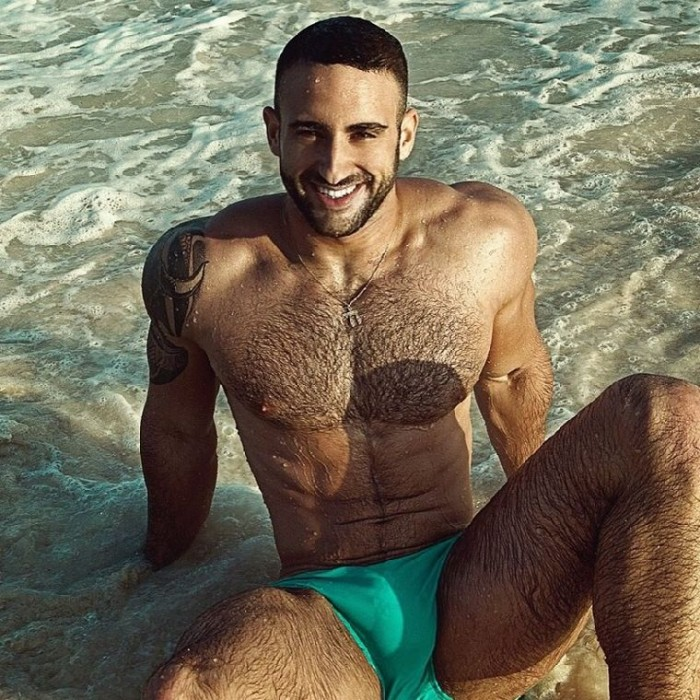Eliad Cohen in his own brand Papawear by Bruno Olvez