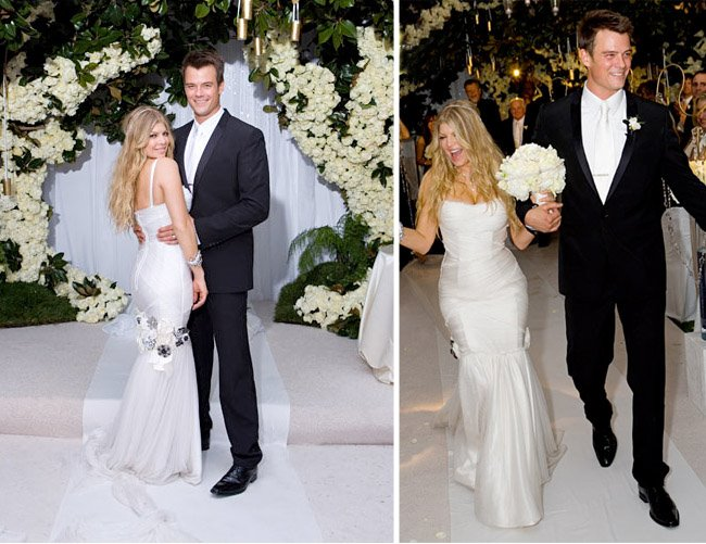 Stacy ferguson josh duhamel wedding