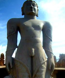 Baahubali Gomateshwara at Shravanabelagola