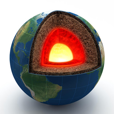 Ada Partikel Aneh di Dalam Perut Bumi