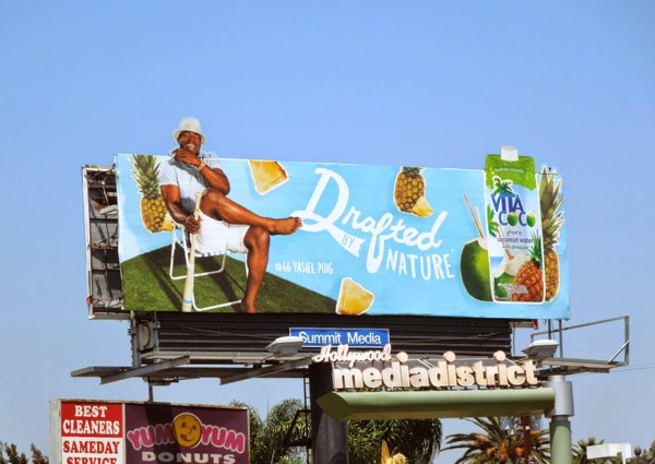 Drafted by Nature Vita Coco Yasiel Puig billboard