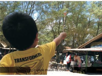 Naik ATV di Pantai Baru Bantul | Mask-ID