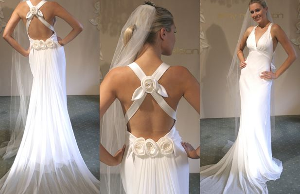 Backless Wedding Dresses Vera Wang Bridal Wears