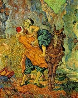 O bom Samaritano (segundo Delacroix) - 1890