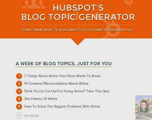blog samples writing