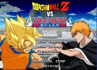 Download Dragon Ball Z Vs Bleach Mugen