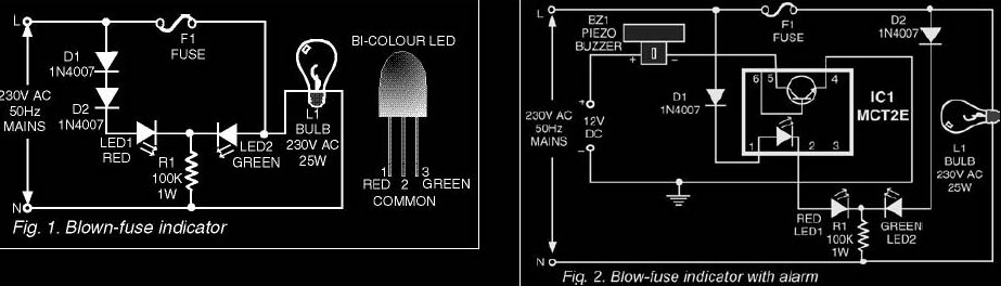 Groovy Automatic Blown Fuse Indicator Circuit Diary Standard Electrical Wiring Digital Resources Remcakbiperorg