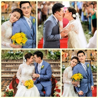 Maya and Ser Chief Fairytale Wedding in Be Careful with My Heart