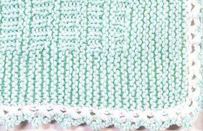 Como tejer cobija de bebé - Imagui