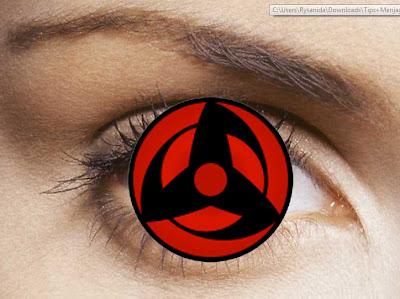 7x Membuat Mata Sharingan dengan photoshop