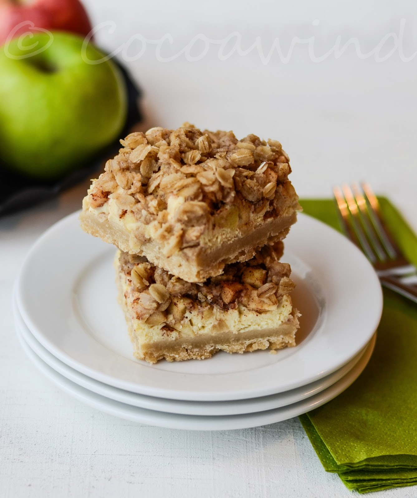 Apple Streusel Cheesecake - Version 2.0