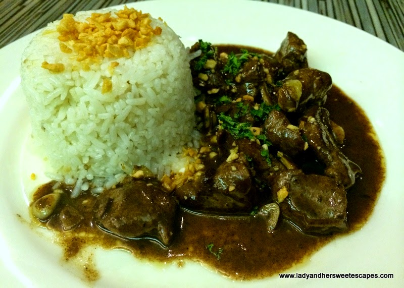 Beef Salpicao at Pepe's Grill Bacolod