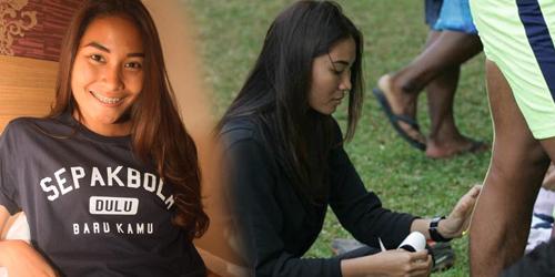 Adinda Pricilla, Cewek Asal Sunda Ini Hebohkan Piala Jenderal Sudirman 2015