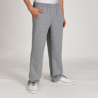 Puma Men's Fleece Joggers - Grey Heather