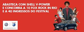 Promoção Shell V-Power & Rock in Rio