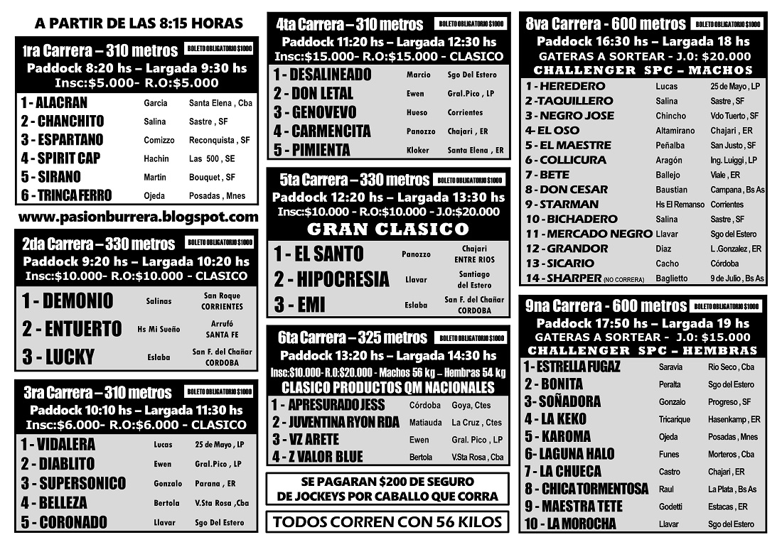 LAS FLORES - PROGRMA 26 - INT.