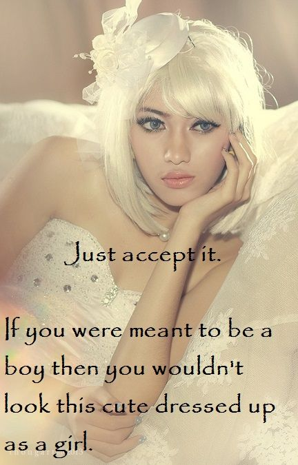 Just accept it!
