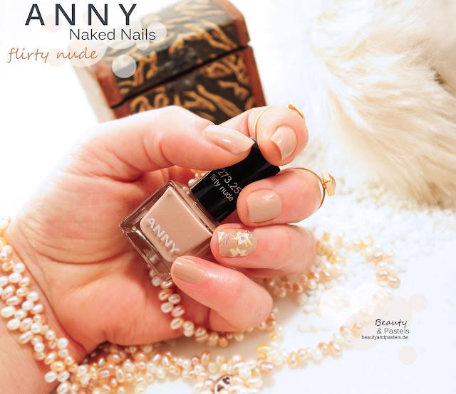 Nagellack beige von Anny