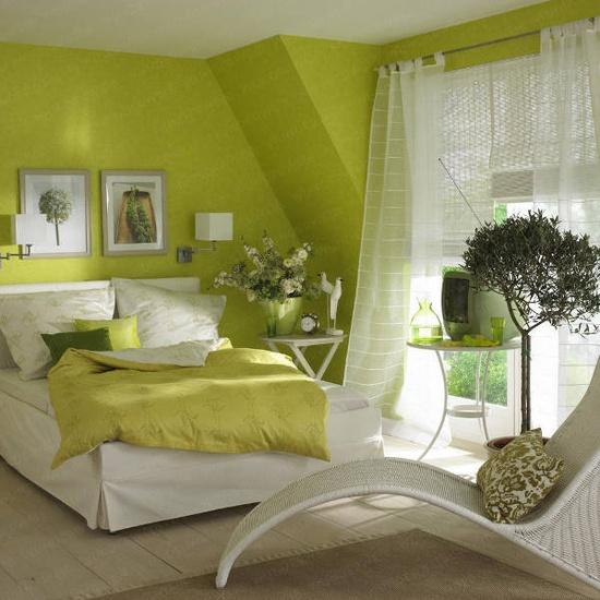 Dekorasi Kamar Tidur Untuk Musim semi