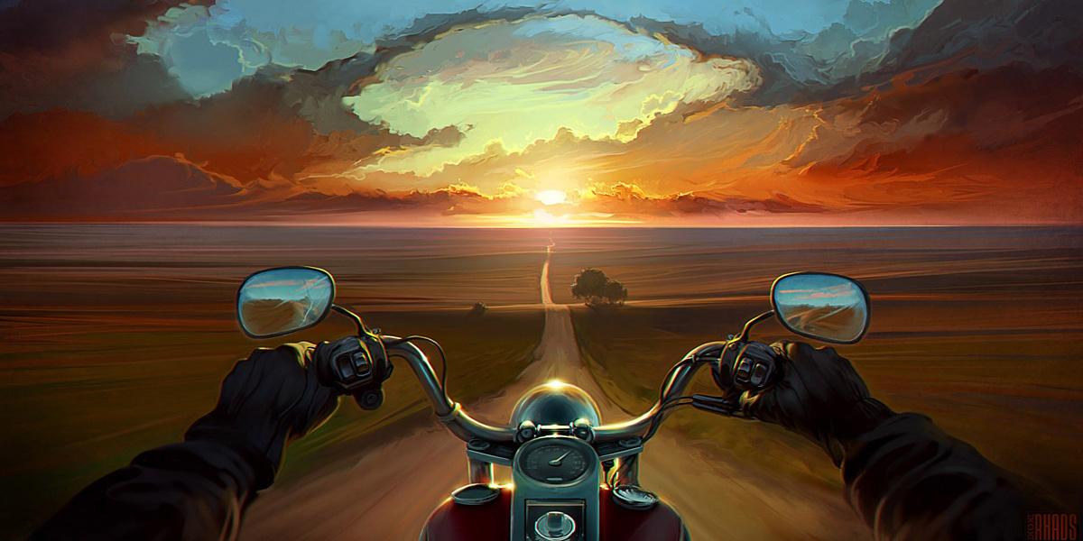 Motorbikes 300+ Muhteşem HD Twitter Kapak Fotoğrafları